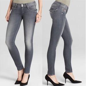 HUDSON Collin Flap-Pocket Skinny Jeans